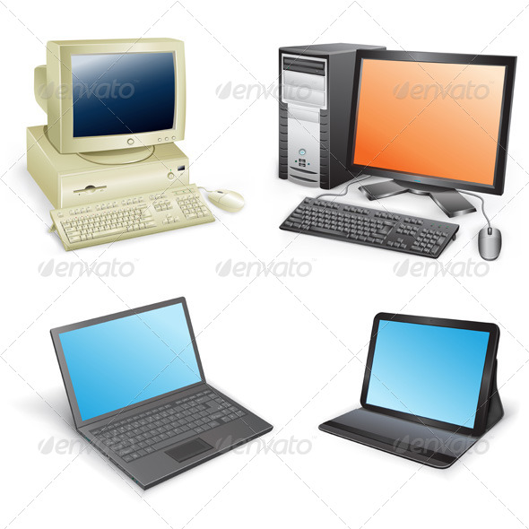 GraphicRiver Computer Evolution 5302107