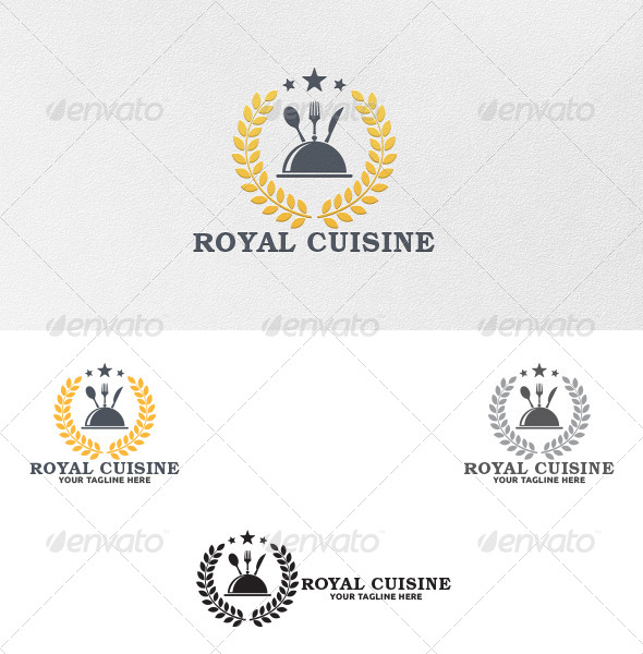 GraphicRiver Royal Cuisine Logo Template 5303179