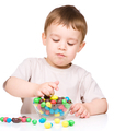 Portrait of a boy with candies - PhotoDune Item for Sale