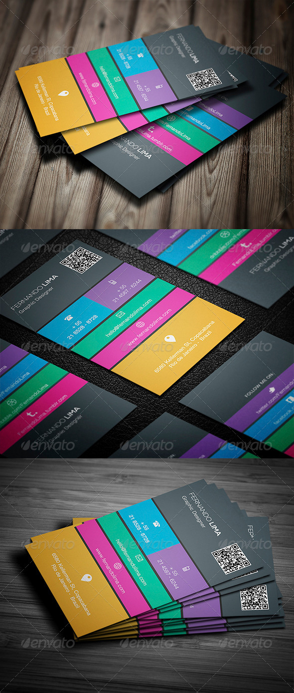 GraphicRiver Creative Business Card 008 5303915