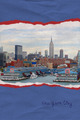 Ripped paper postcard of New York city - PhotoDune Item for Sale