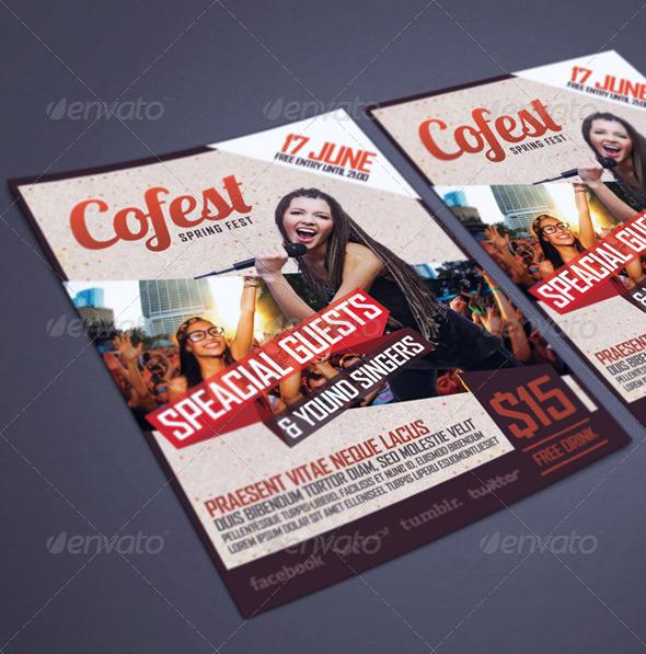 GraphicRiver Fest Flyer Poster 5254361