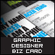 Graphic Designer Business Card - GraphicRiver Item for Sale