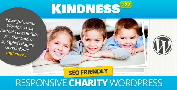 Kindness - Premium WordPress Theme - Charity Nonprofit