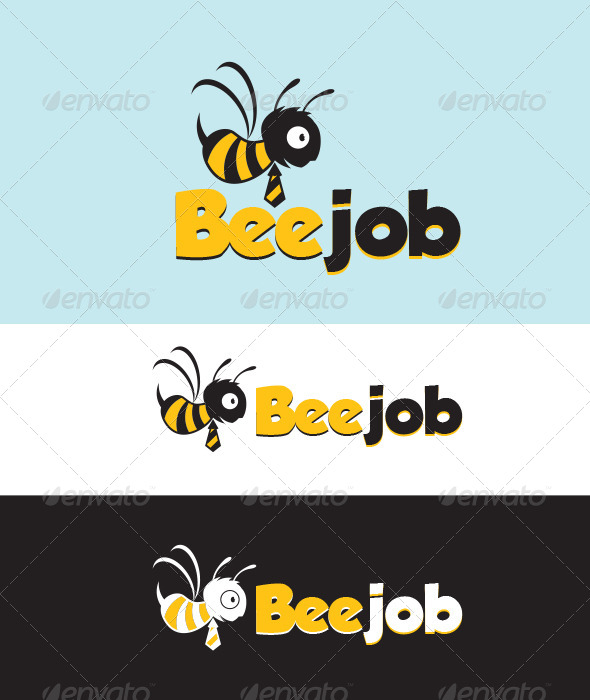 GraphicRiver Bee Job Logo 5305348