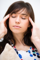 Woman is suffering headache - PhotoDune Item for Sale