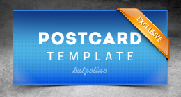 Corporate Postcard Template