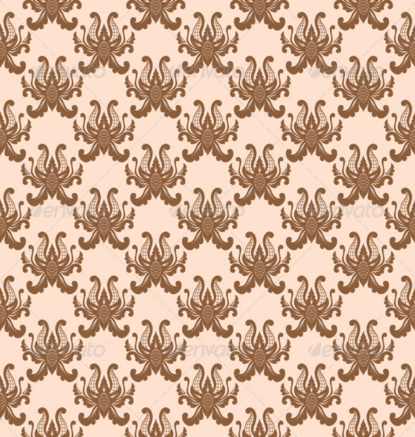 GraphicRiver Balinese Flower Pattern 5308236