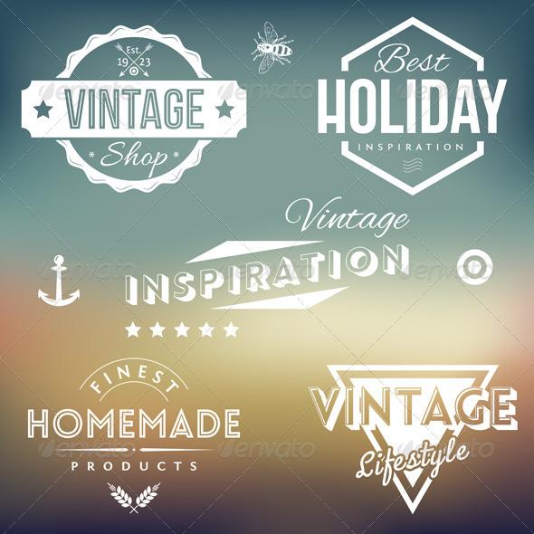 GraphicRiver Vintage Labels 5308296