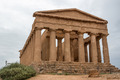 The ruins of Temple of Concordia, Valey of temples, Agrigento, Sicily, Italy - PhotoDune Item for Sale