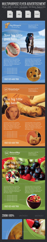 GraphicRiver Multipurpose Flyer Advertisement 5310348
