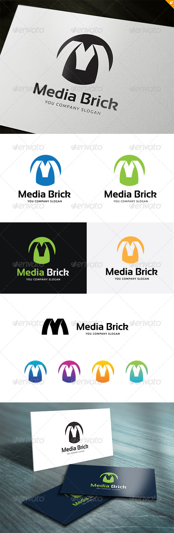 GraphicRiver Media Brick 5311229