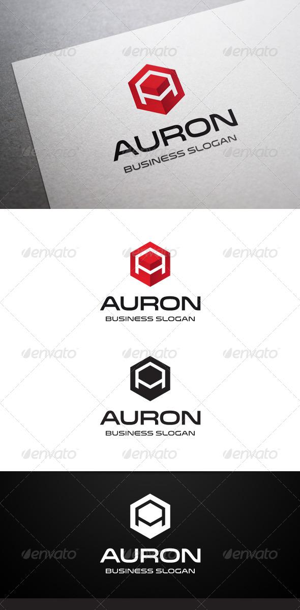 GraphicRiver Auron A Letter Logo 5310013