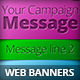 Colorful Marketing Campaign Web Banners - GraphicRiver Item for Sale