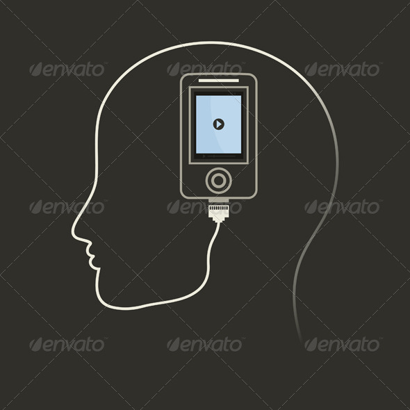 GraphicRiver Phone in a Brain 5313015