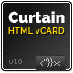 Link toCurtain - minimal vcard html5 template