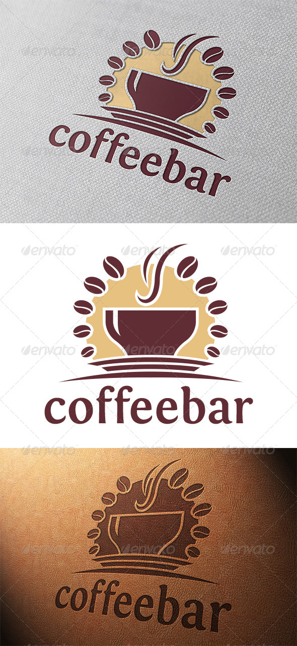 GraphicRiver Coffee Logo Template 5315703