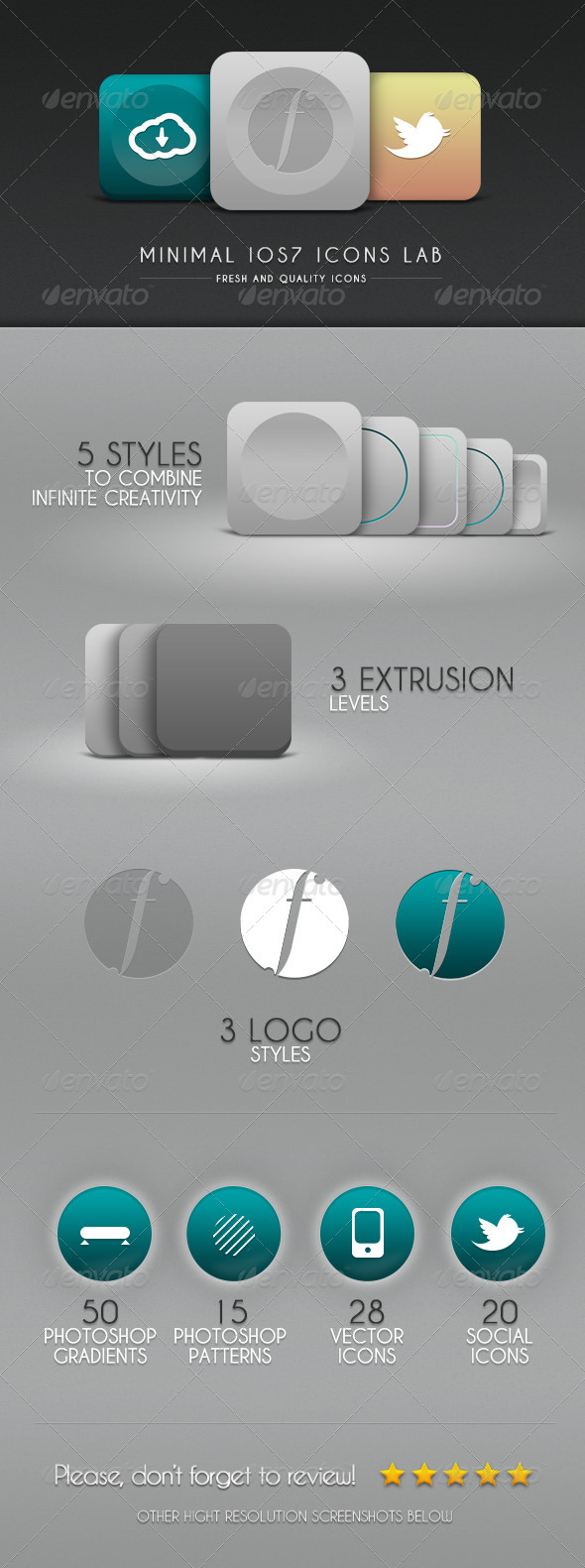 GraphicRiver Minimal iOs7 Icons Lab 5317203