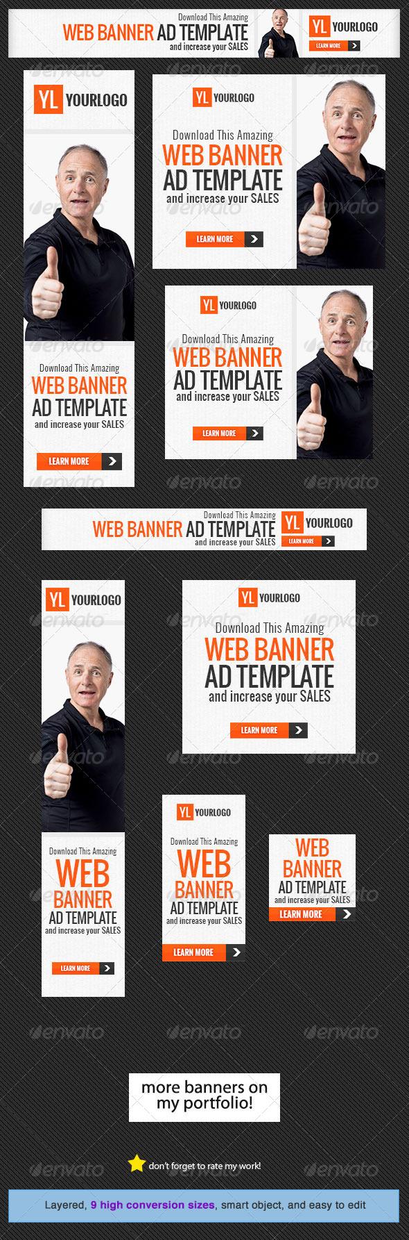 GraphicRiver Corporate Web Banner Design Template 20 5317914