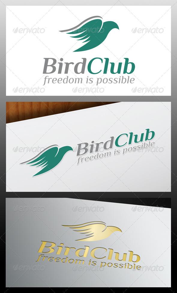 GraphicRiver Bird Club Logo Template 5318128