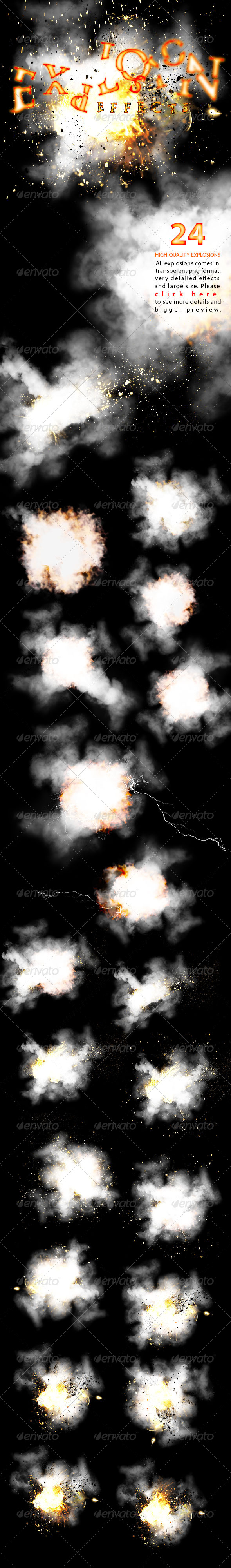 Explosion Effects - Decorative Graphics