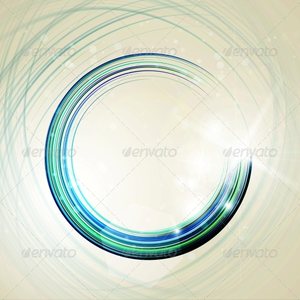 GraphicRiver Abstract Technology Circles 5319027