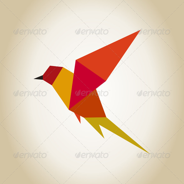 Bird abstraction - Stock Photo - Images