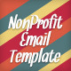 Nonprofit Modular Email Template - GraphicRiver Item for Sale