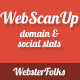 WebScanUP Domain Reviewer & SEO Stats Checker - CodeCanyon Item for Sale