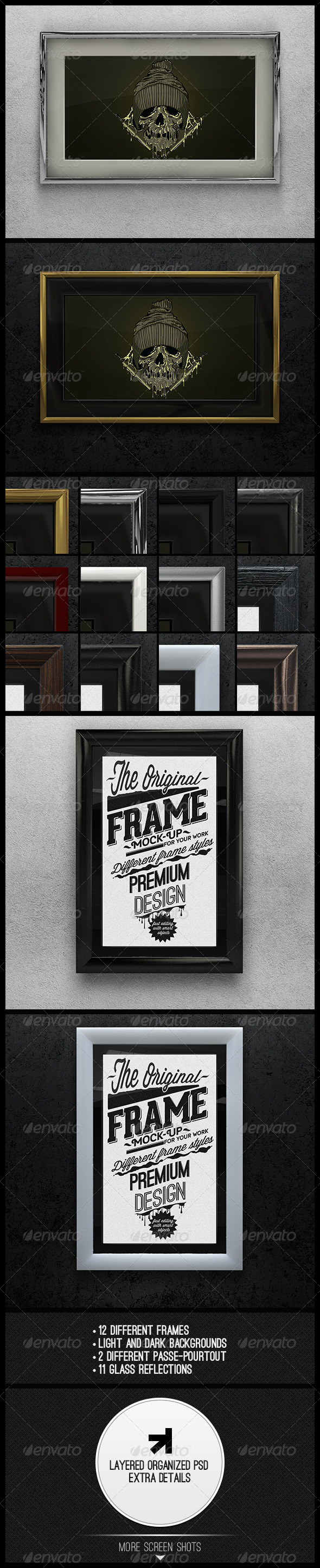 GraphicRiver Artwork Frame Mock-up 5321491