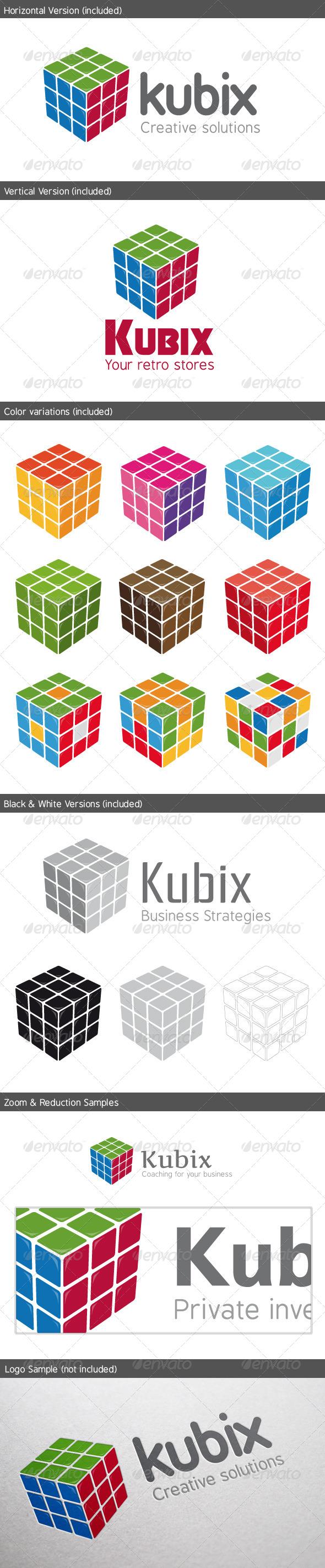 GraphicRiver Kubix Logo 5322328