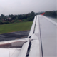 View From The Window Of The Plane Landing - VideoHive Item for Sale