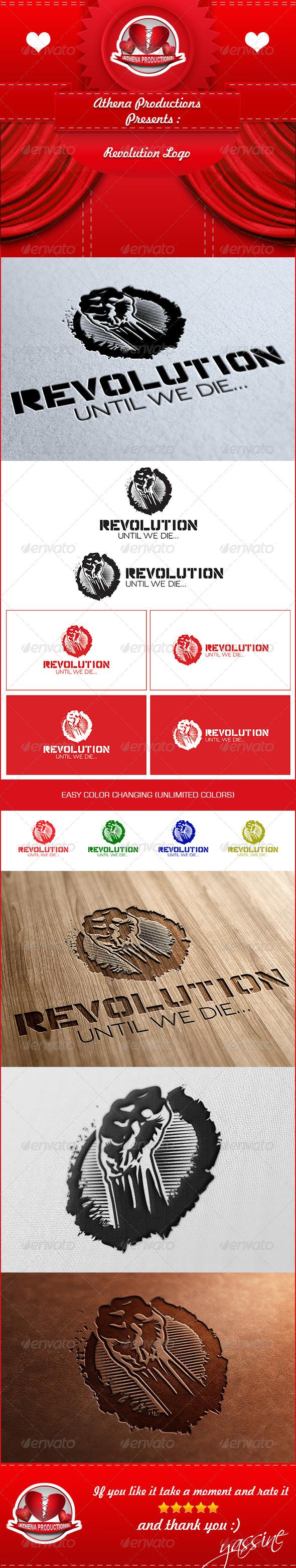 GraphicRiver Revolution Logo 5319248
