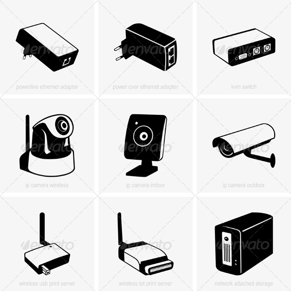 GraphicRiver Network Equipment 5323396