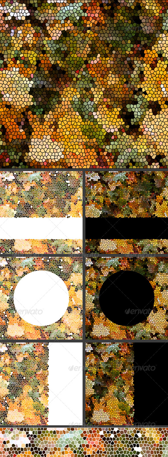 GraphicRiver Autumn Leaves Mosaic 5323704