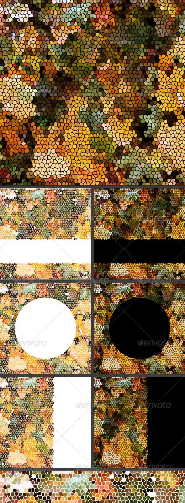 GraphicRiver Autumn Leaves Mosaic 5323704