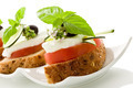 Caprese starter - Isolated - PhotoDune Item for Sale