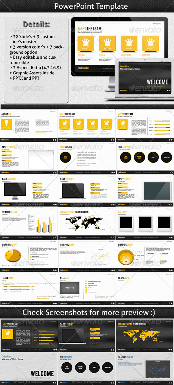 GraphicRiver Great Idea Powerpoint Template 5326271