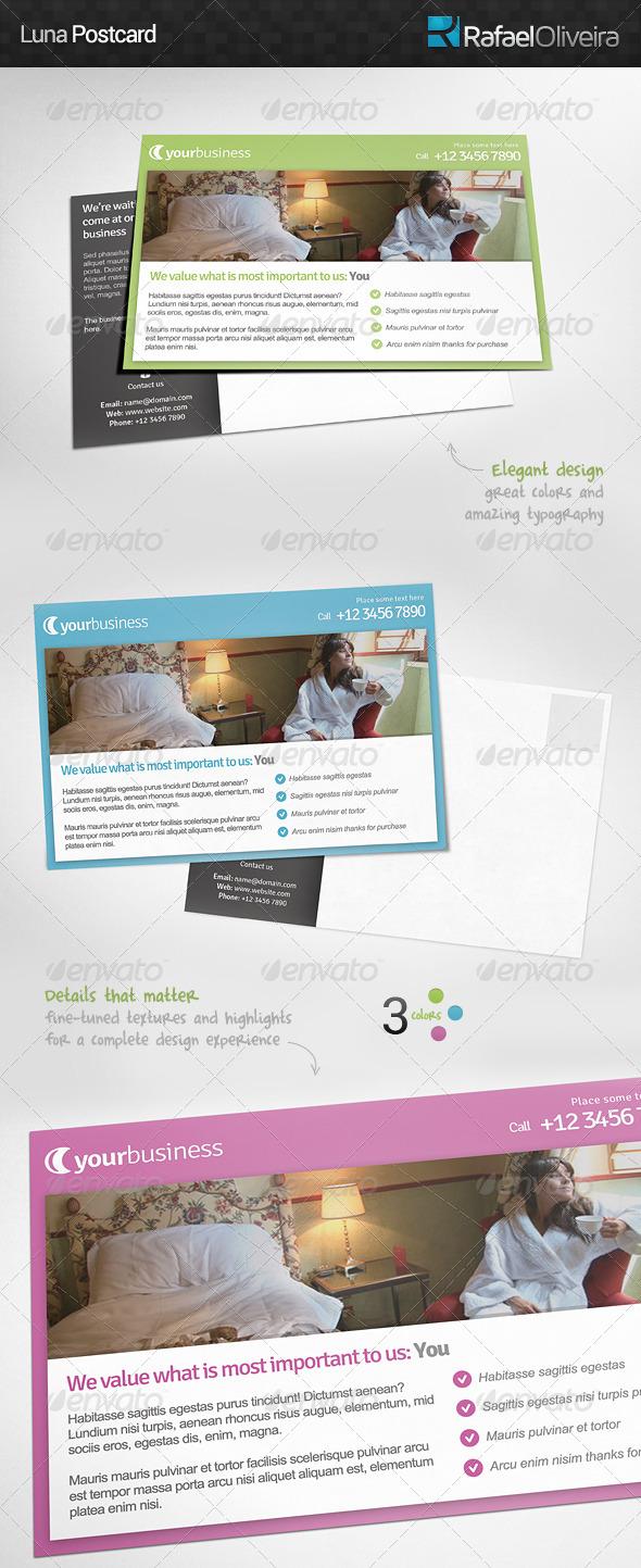 GraphicRiver Luna Postcard 5326985