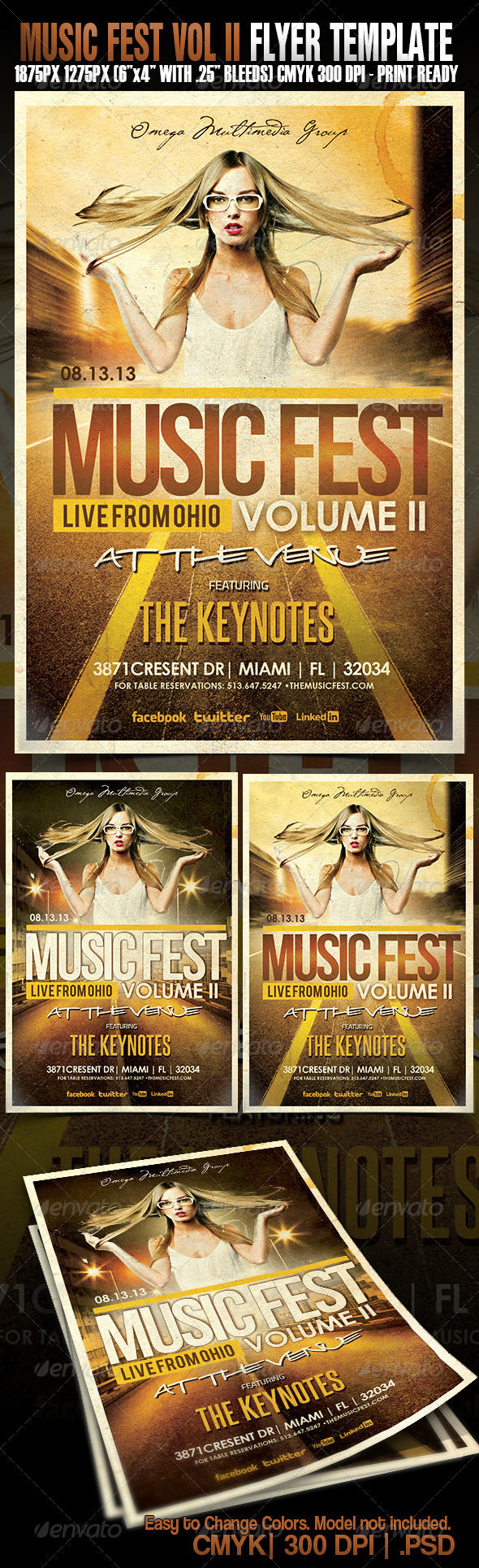 GraphicRiver Music Fest Vol.2 5327233