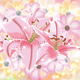 Shining Composition with Lilies and Cosmos - GraphicRiver Item for Sale