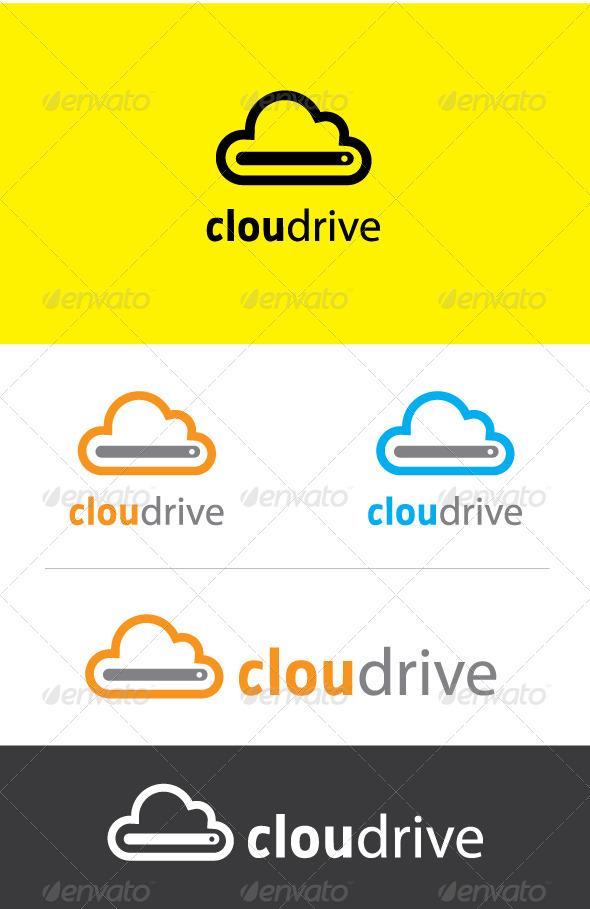 GraphicRiver Cloud Drive Logo 5322982