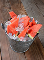 Bucket Full of Watermelon Slices - PhotoDune Item for Sale