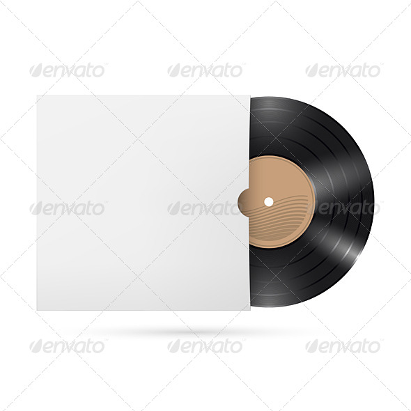 GraphicRiver Vinyl Record 5329085