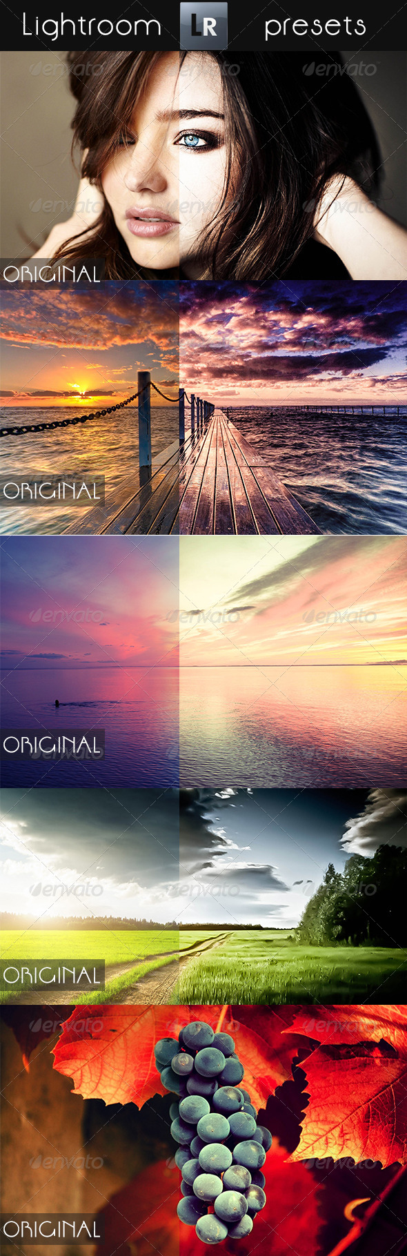 GraphicRiver 5 Mixed Pro Presets 5329998