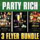 Party Rich Flyer Template Bundle - GraphicRiver Item for Sale