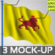 Flag Mock-up V2 - GraphicRiver Item for Sale