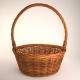 Wicker Basket - 3DOcean Item for Sale