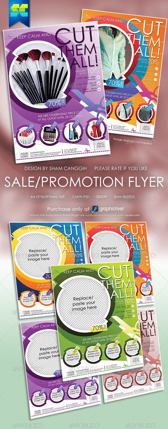 Multi Purpose Sales Flyers - Miscellaneous Events
