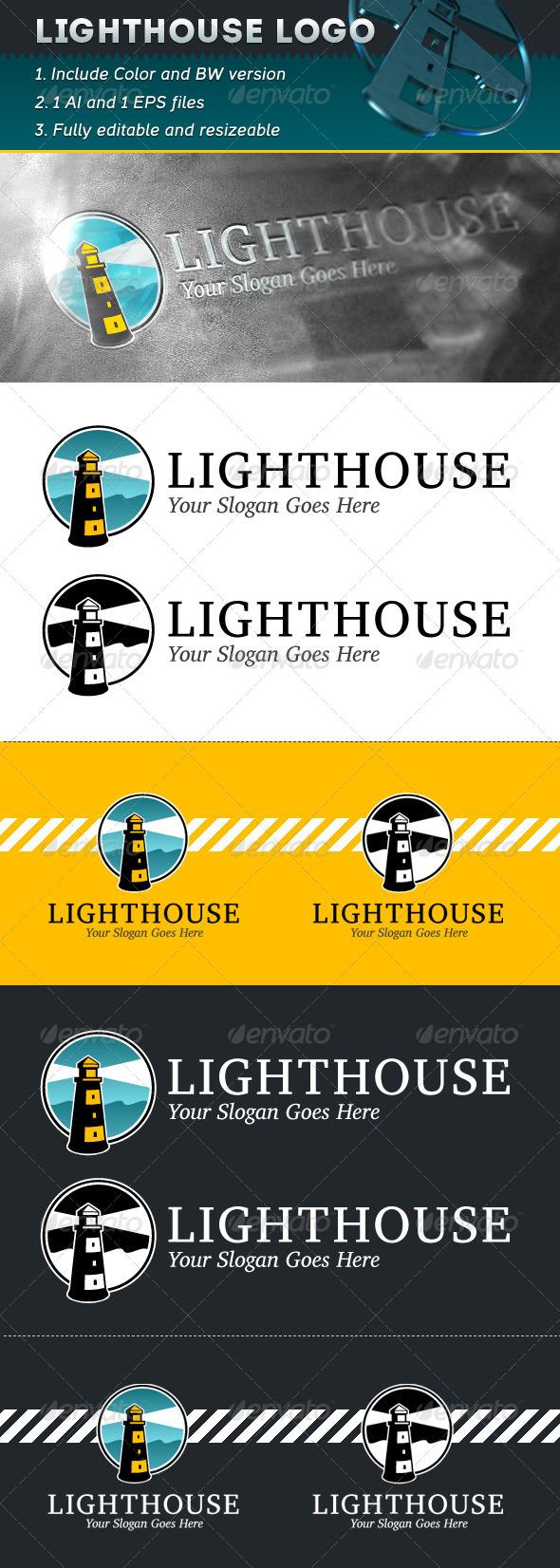 GraphicRiver Lighthouse Logo 5326482